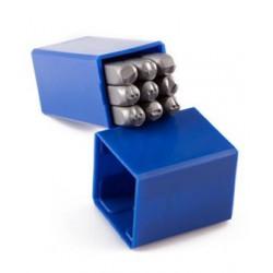Çelik Numaratör (Rakam Takımı) 3 mm